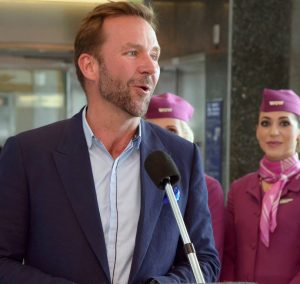 WOW air's founder and CEO Skúli Mogensen