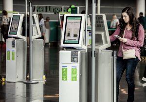 Dublin Airport kioaks