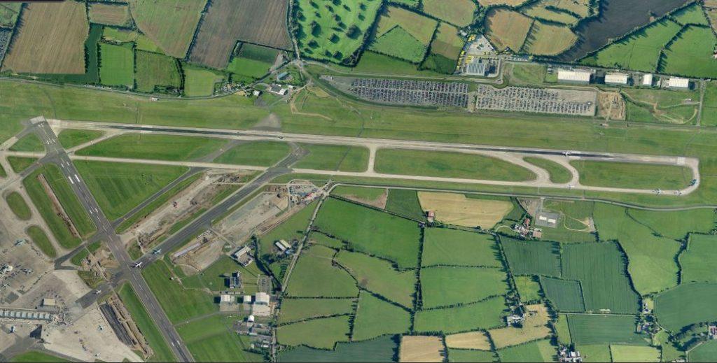 Dublin Airport's main runway 28