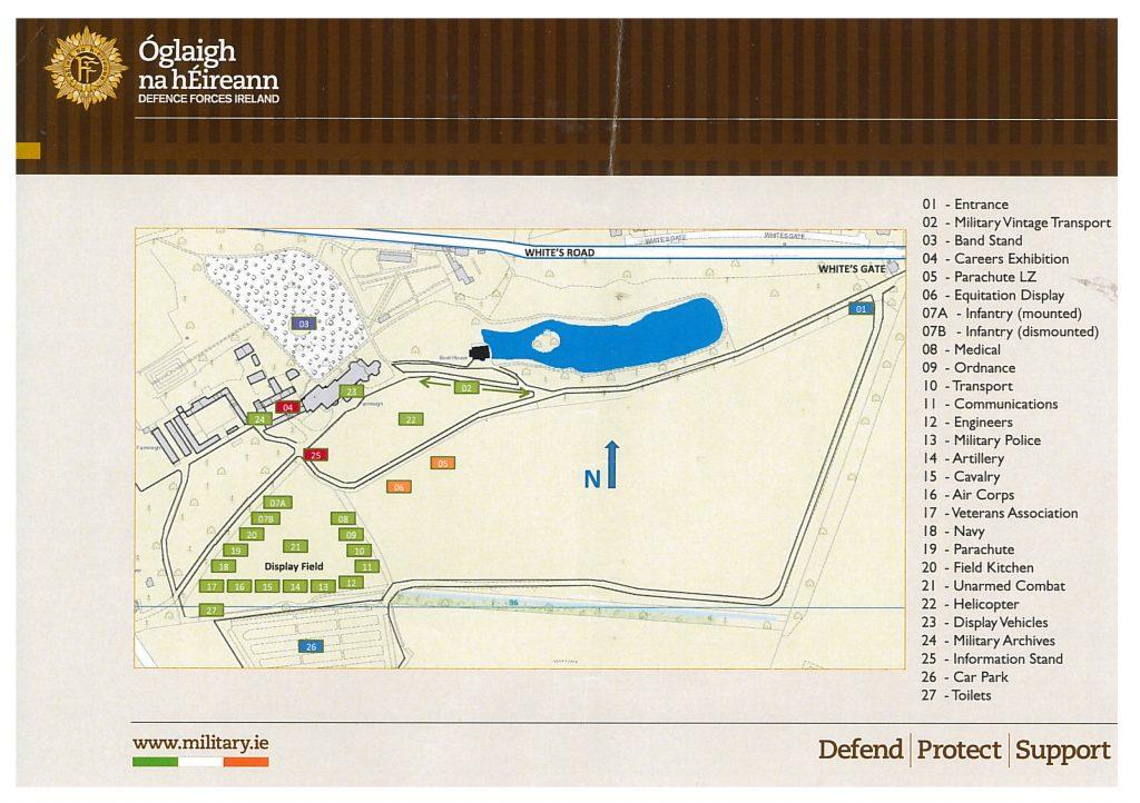 Map for Farmleigh (IDF)