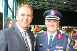 Minister of State  Joe McHugh with Brigadier General Paul Fry (JL IMG3052)