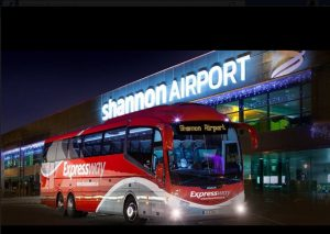 Shannon Airport at night