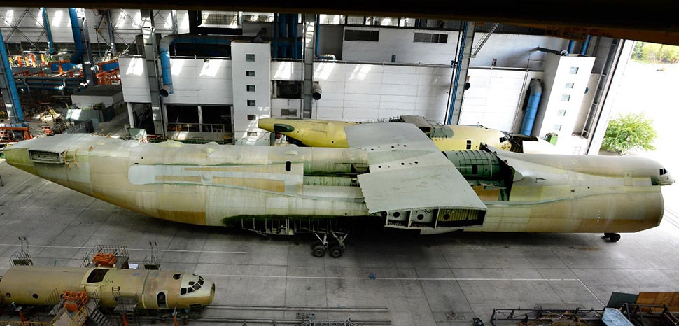 Antonov An-225 second production airframe