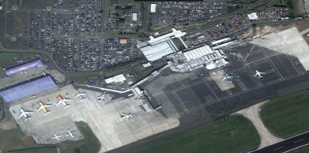 belfast-intl-airport-layout