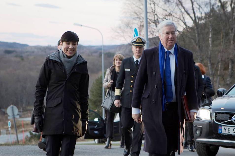 uk-defence-secretary-sir-michael-fallon-with-his-norwegian-counterpart-ine-marie-eriksen-soreide