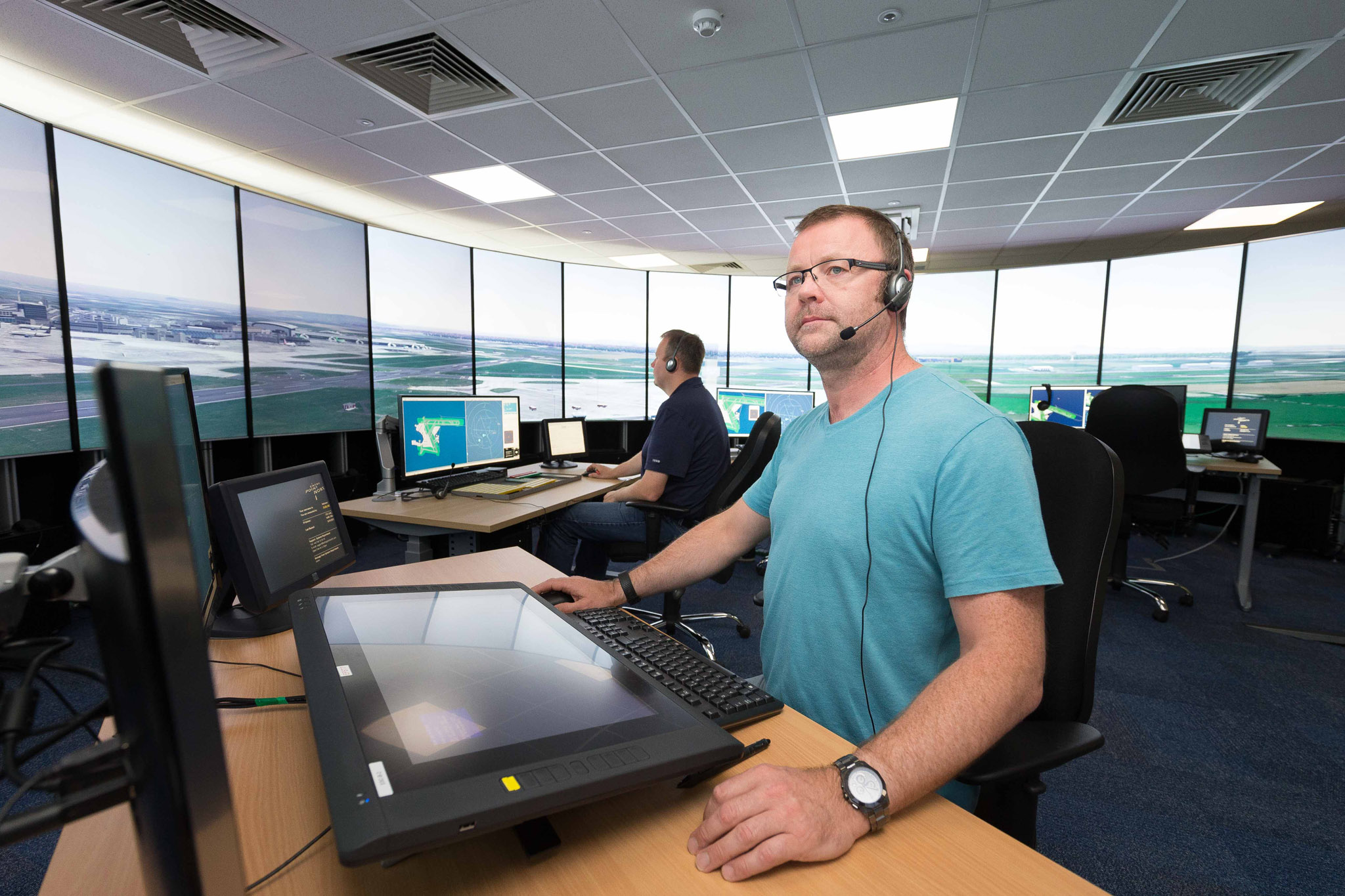 #417A8A » New ATC Simulator Opens At Dublin Airport Highly Rated 8529 Air Conditioning Courses Dublin wallpapers with 2048x1365 px on helpvideos.info - Air Conditioners, Air Coolers and more