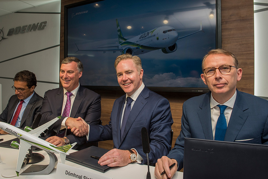 Avolon signs MOU for 75 Boeing 737 MAX aircraft at Paris Airshow ...