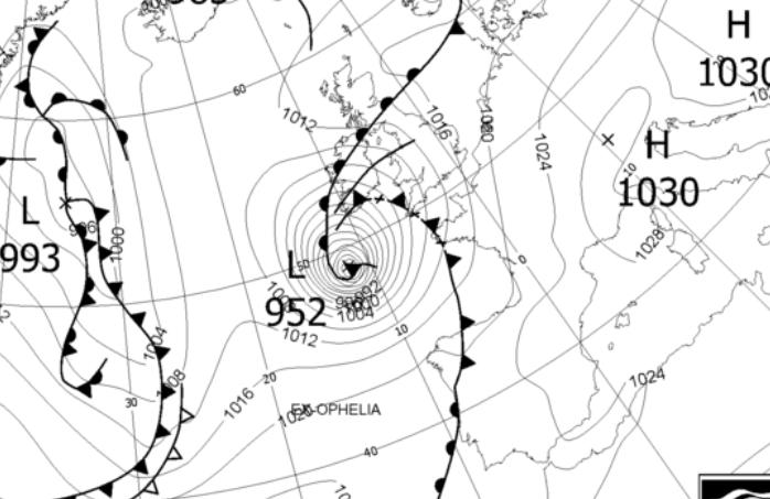 Iaa Warns Of Flight Disruption By Storm Ophelia