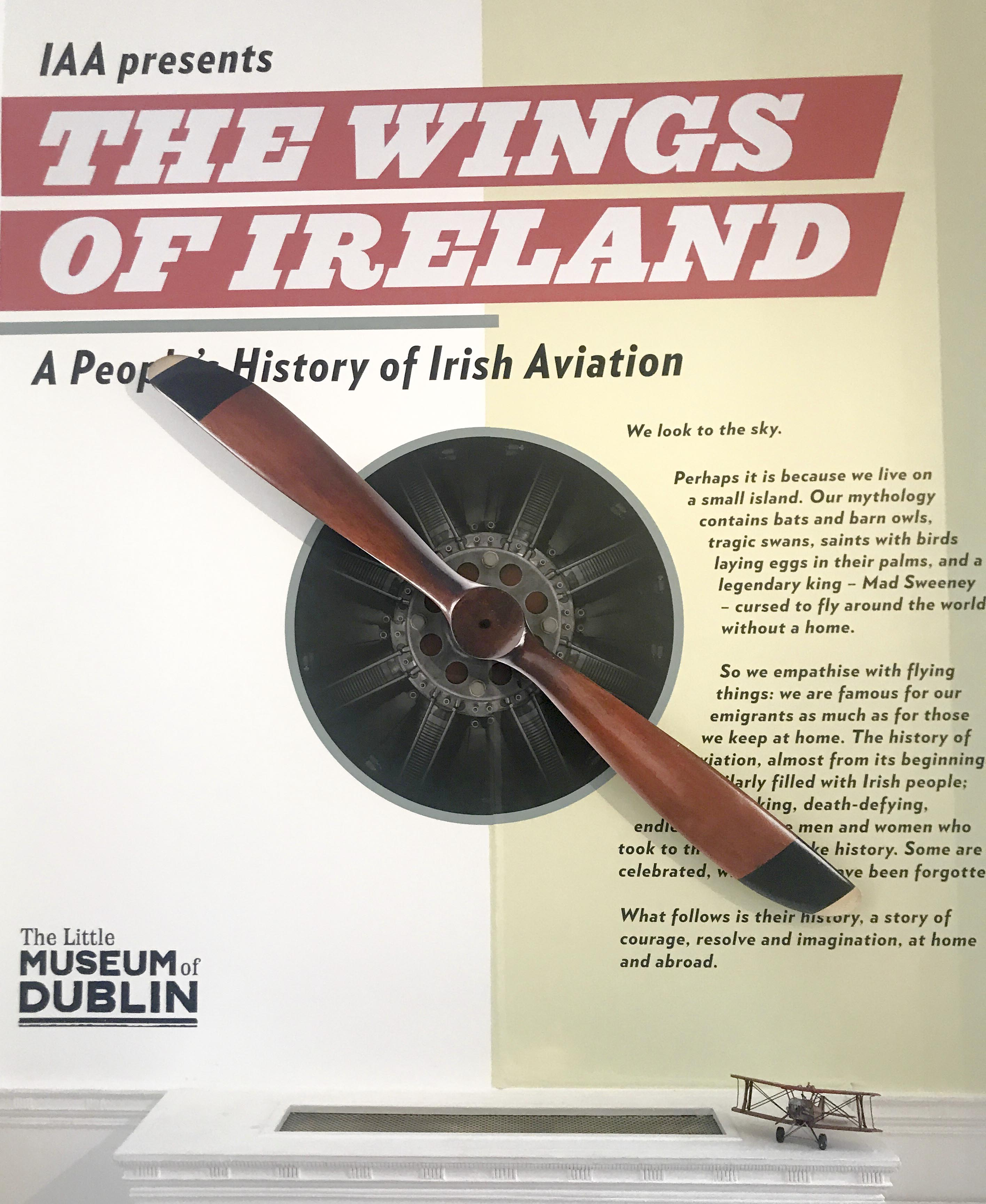 IAA Exhibition at the Little Museum of Dublin
